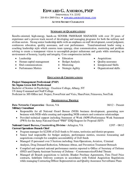 Clinical research project manager resume png 1275x1650